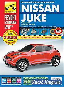 Nissan Juke с 2010 года выпуска. Руководство по эксплуатации, техническому обслуживанию и ремонту