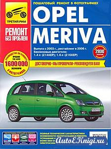 Opel Meriva c 2003 года выпуска. Руководство по эксплуатации, техническому обслуживанию и ремонту