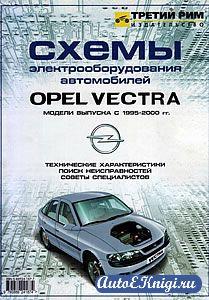 Схемы электрооборудования автомобилей Opel Vectra 1995-2001 годов выпуска