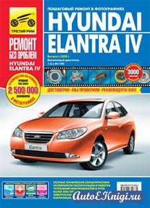 Hyundai Elantra IV с 2006 года выпуска. Руководство по эксплуатации, техническому обслуживанию и ремонту