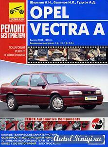 Opel Vectra A 1988-1995 годов выпуска. Руководство по эксплуатации, техническому обслуживанию и ремонту