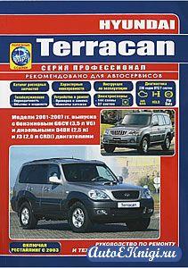 Hyundai Terracan 2001-2007 годов выпуска. Руководство по ремонту и техническому обслуживанию