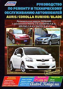 Auris/Blade с 2006 года выпуска, Corolla Rumion с 2007 года выпуска. Руководство по ремонту и техническому обслуживанию